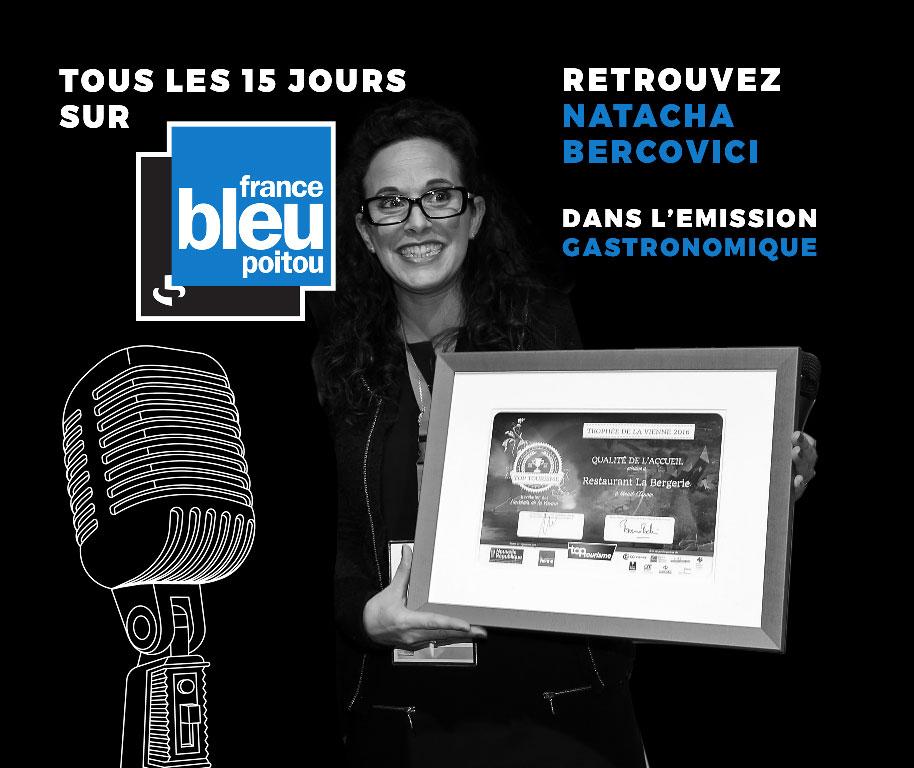 Emission gastronomique France Bleu Poitou